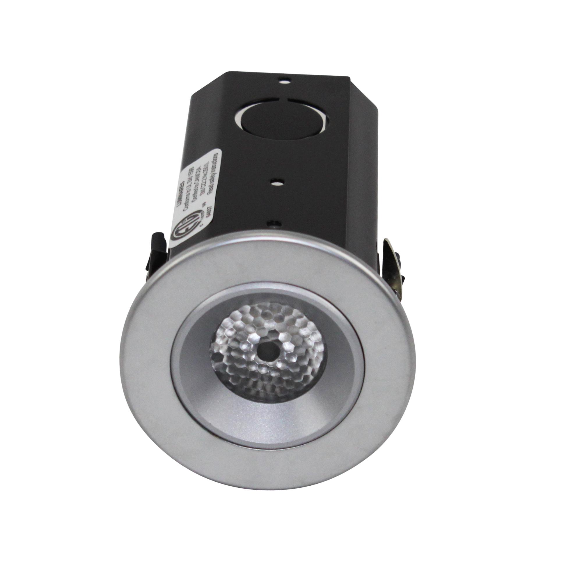 bruck ledra 135653 1 recessed led puck task light. Black Bedroom Furniture Sets. Home Design Ideas