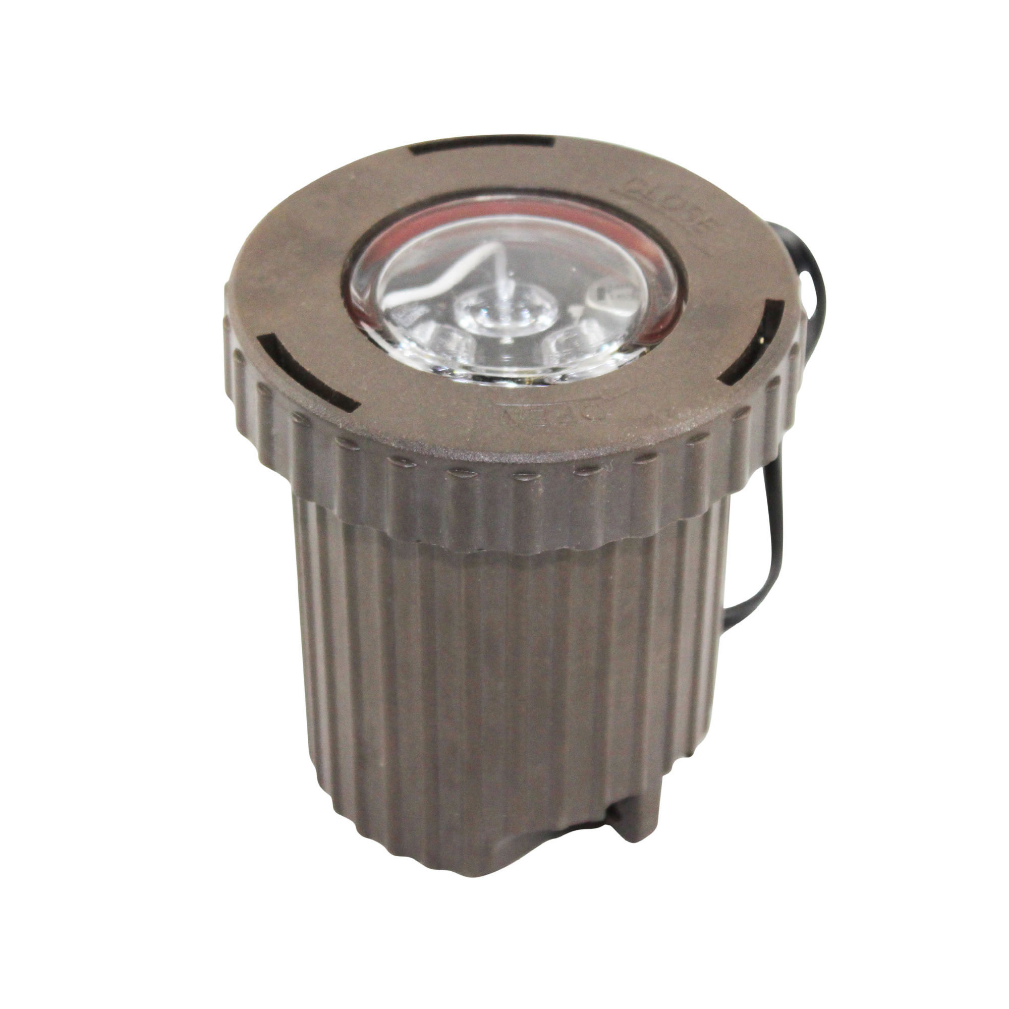 Low Voltage Outdoor Lighting Replacement Parts: HADCO PHILIPS LED INGROUND LOW VOLTAGE LANDSCAPE LIGHT; BRONZE