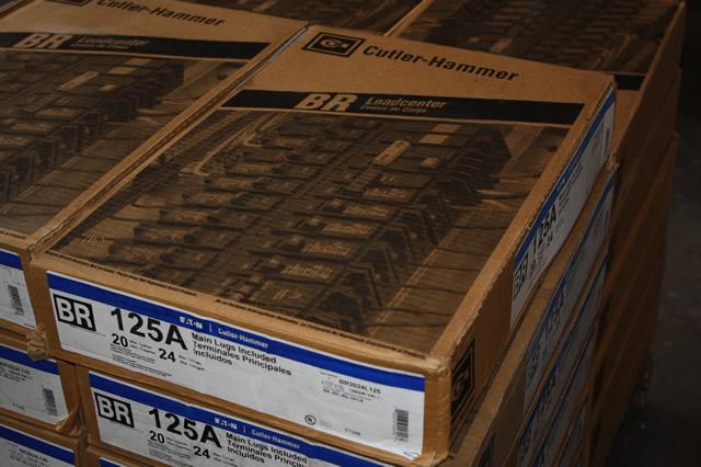 Eaton Cutler Hammer Ch12l125b Single Phase Main Lug Load: EATON CUTLER HAMMER BR2024L125 125A CIRCUIT BREAKER