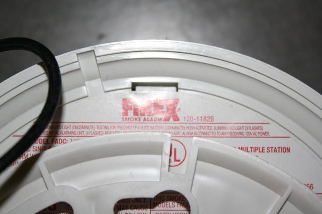 firex 120 1182b 120vac fire alarm smoke detector w t96 ballast 120 volt wiring diagram #14