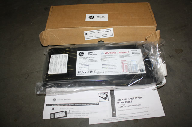 Ge Gexlps20 Tetra Xl Led Channel Lighting System Power