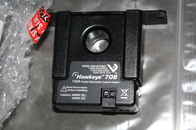 Adjustable Switch Manufacturers Mail: VERIS HAWKEYE 708 DIGITAL ADJUSTABLE SOLID-CORE CURRENT